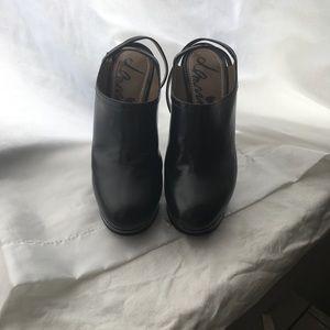 Lanvin black platform heels 🖤